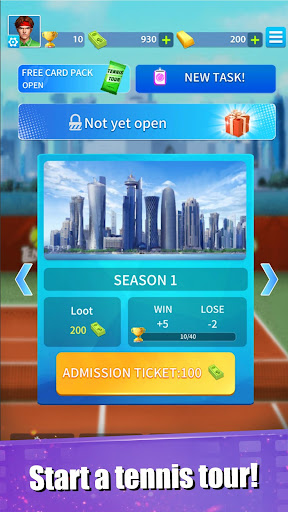 Tennis Tour (Beta) android2mod screenshots 6