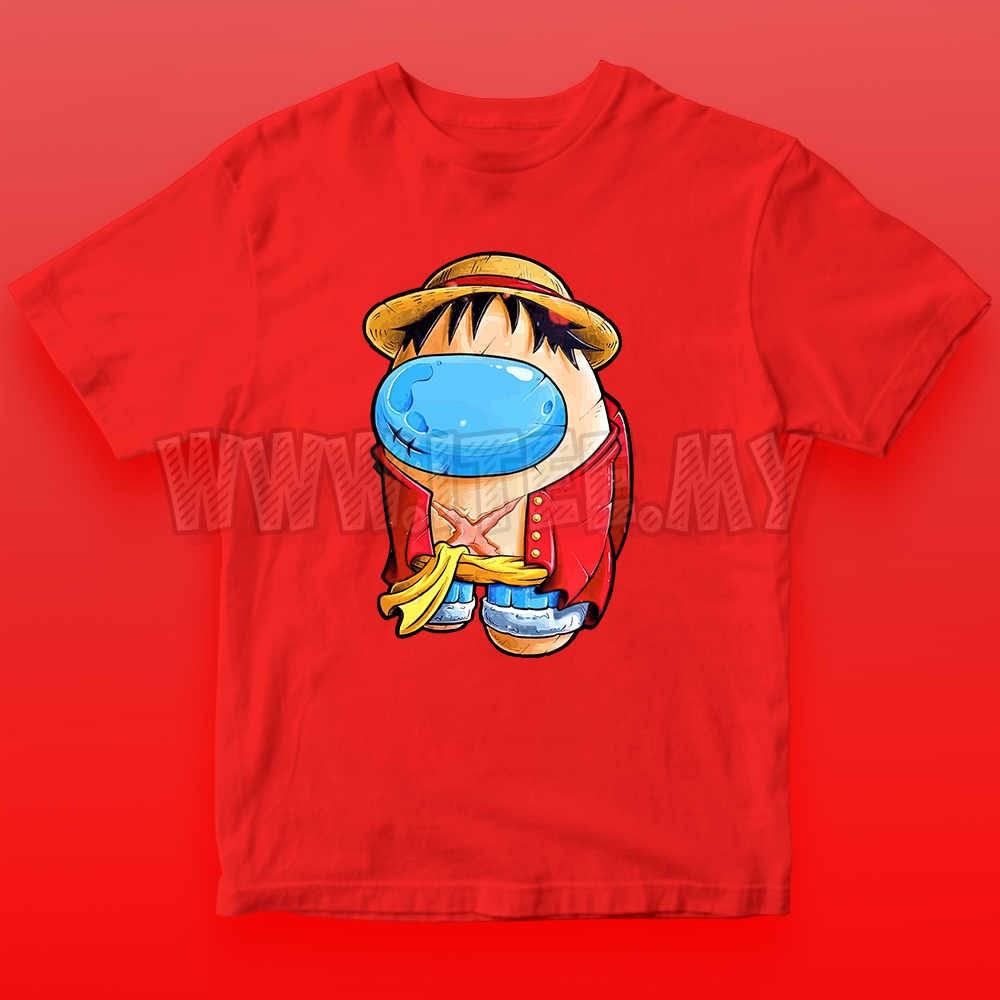 Monkey D. Luffy Straw Hat  One Piece Among Us Impostor 19