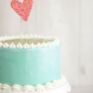 Cherry-Vanilla Layer Cake