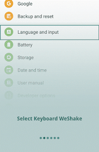 WeShake- screenshot thumbnail