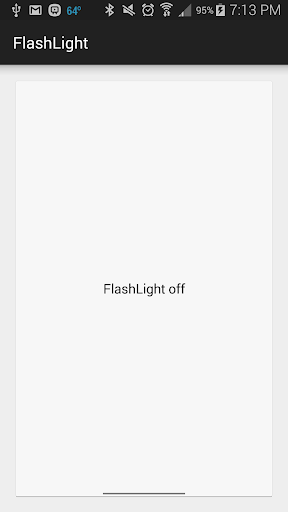 Safe and Simple Flashlight