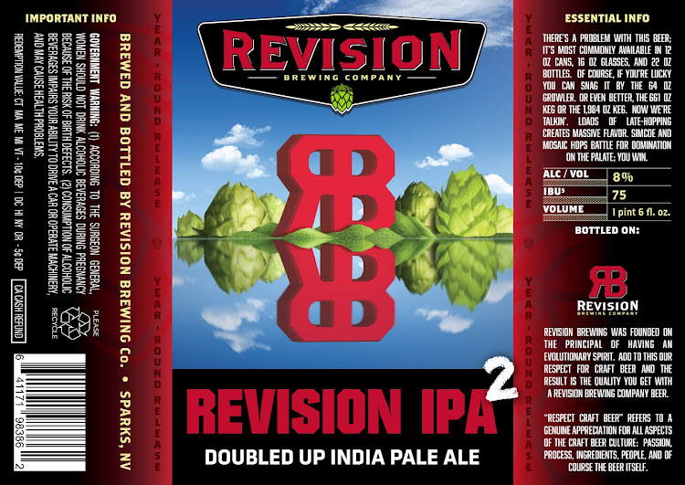 Logo of Revision Double IPA