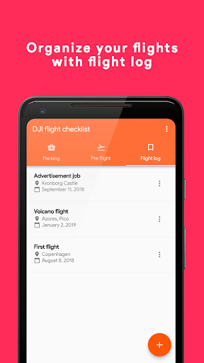 DJI Flight Checklist Pro  screenshots 2