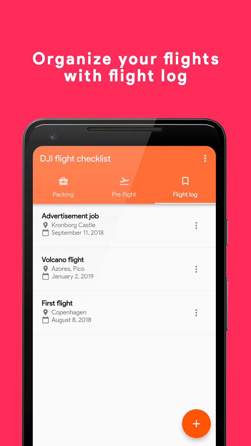 DJI Flight Checklist Pro Screenshot 1