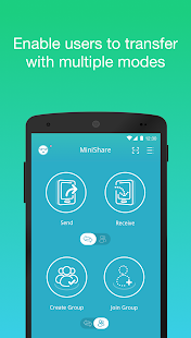 Zapya MiniShare - Mini Size File Transfer App Screenshot