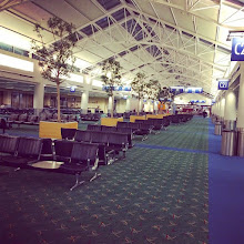 Photo: d-eye flights and mostly empty airports, headed to DC
