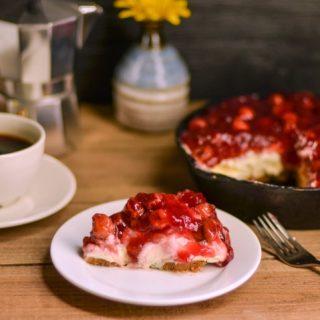 NO Bake Cherry Cheesecake.