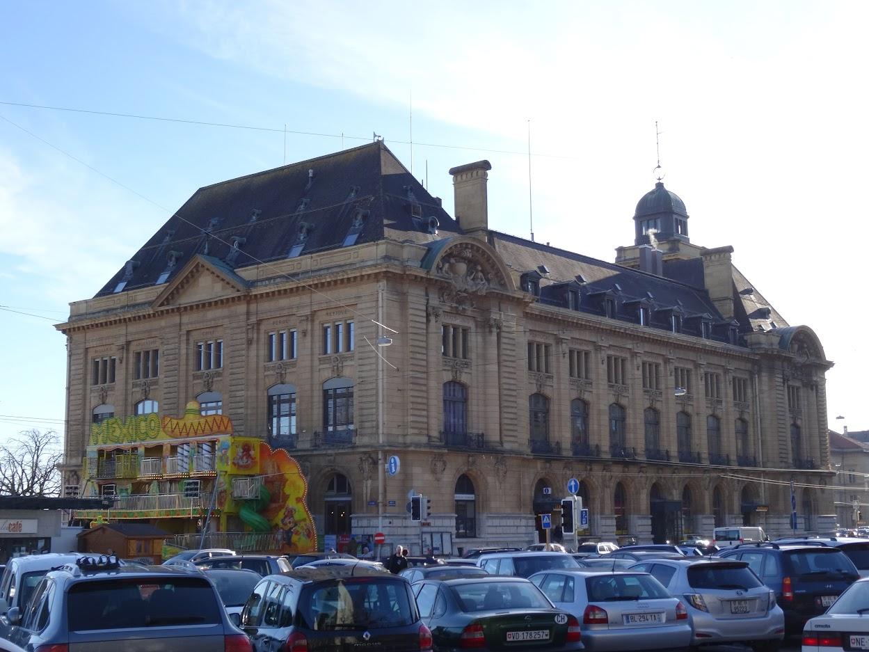 Hôtel des Postes à Neuchâtel