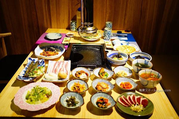 台中韓式燒肉│韓珍館-老虎城店。道地韓式燒烤料理,單點套餐選擇多