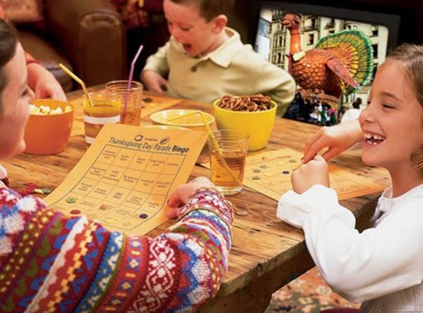 Thanksgiving Day Tv Bingo Recipe
