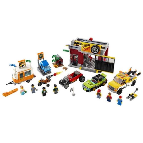 Contenido de Lego® 60258 Taller de Tuneo
