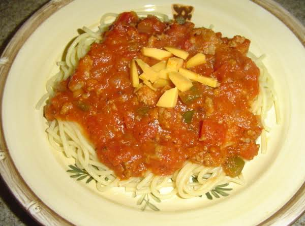 Jenny's Homemade Spaghetti Sauce For A Crowd Recipe