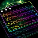 LED Lights Keyboard Background icon