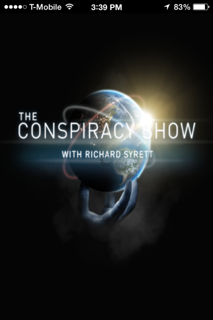 The Conspiracy Radio Show- screenshot