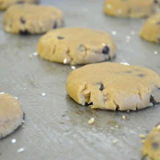 Salted Sesame & Chocolate Chip Cookies