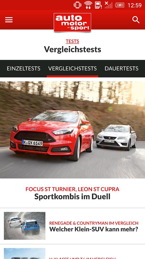 auto motor und sport- screenshot