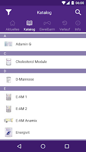Nutricia Metabolics:ProductApp screenshot 2