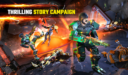 SHADOWGUN LEGENDS - FPS PvP Free Shooting Games APK screenshot thumbnail 19
