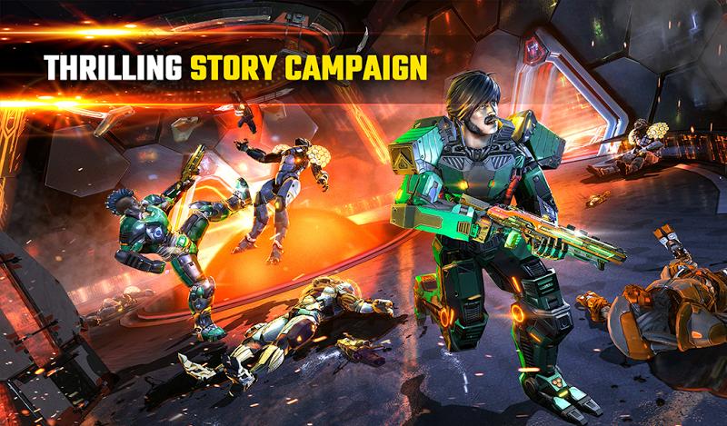 SHADOWGUN LEGENDS - FPS PvP and Coop Shooting Game Screenshot 18