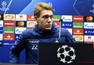 Ethan Horvath, le gardien du Club de Bruges, s'est exprimé avant la dernier match des Brugeois en Ligue des champions