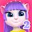 My Talking Angela 2 logo