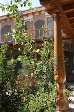 Photo: Day 164 -  Hotel Courtyard