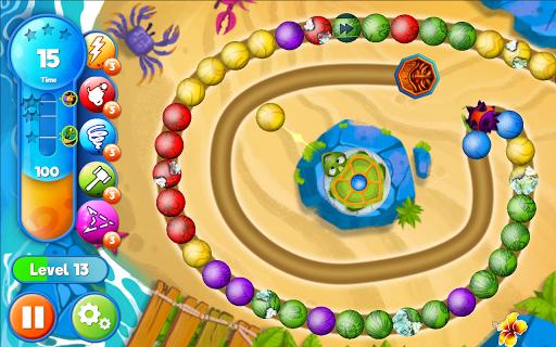 Marble Woka Woka from the jungle to the marble sea screenshot 24