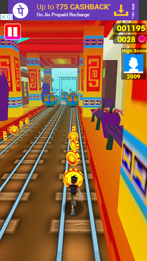 Subway Surf 2018 - Unlimited coin and keys game (apk) free download for Android/PC/Windows screenshot