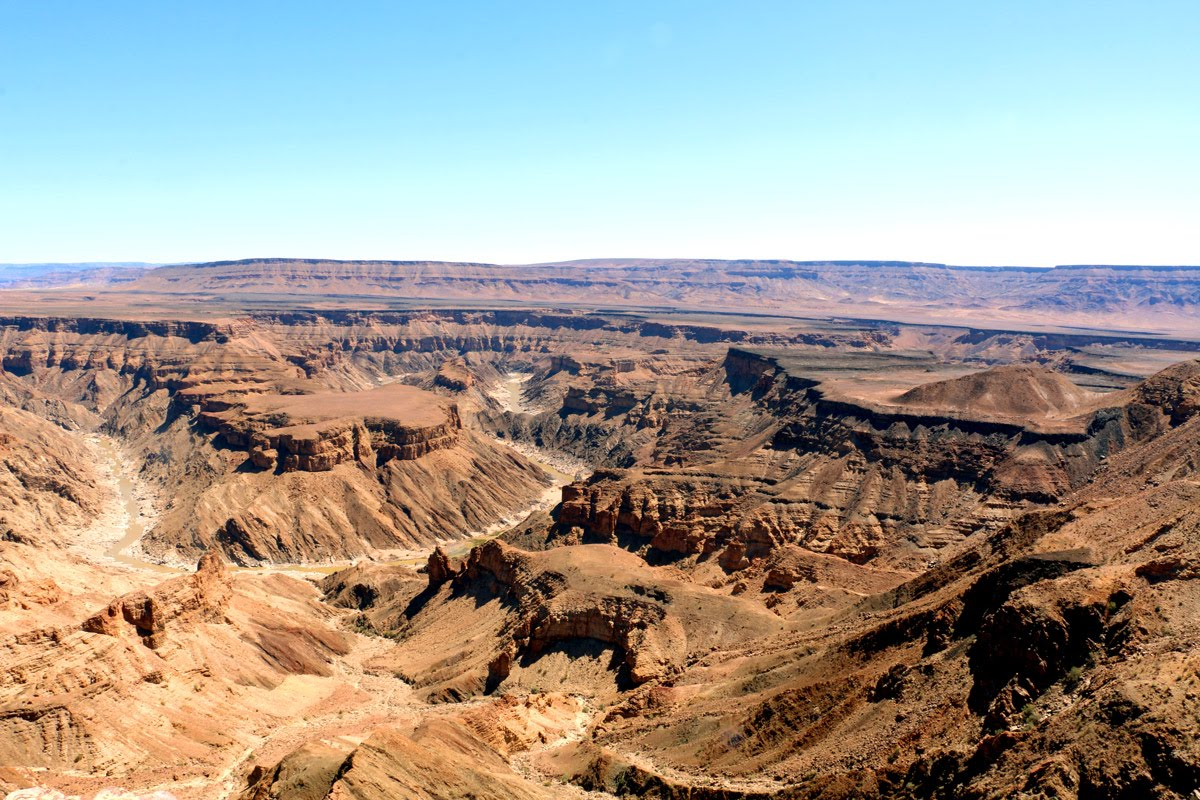 Treks Mountains in Africa // Namibia Fish River Canyon Hike Stingy Nomads