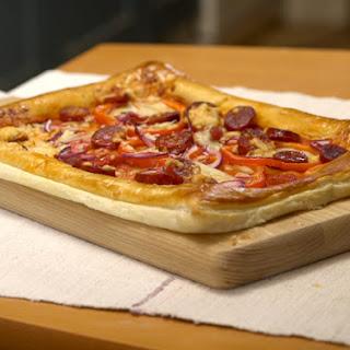 Chorizo Tart.