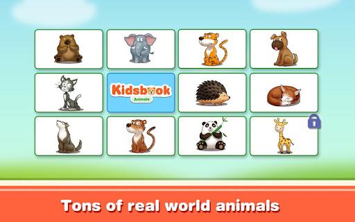 Kids Book: Animals Kids Game