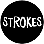 Strokes in White - Icon Pack