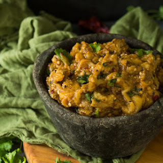 ROASTED EGGPLANT CHUTNEY