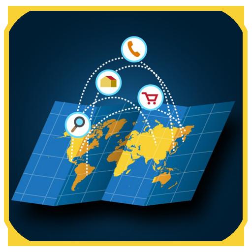 现场地图卫星视图 通訊 App LOGO-APP試玩