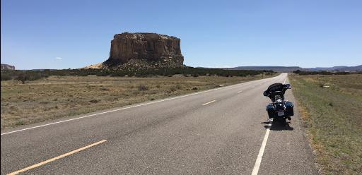 La route 66  Harley Davidson