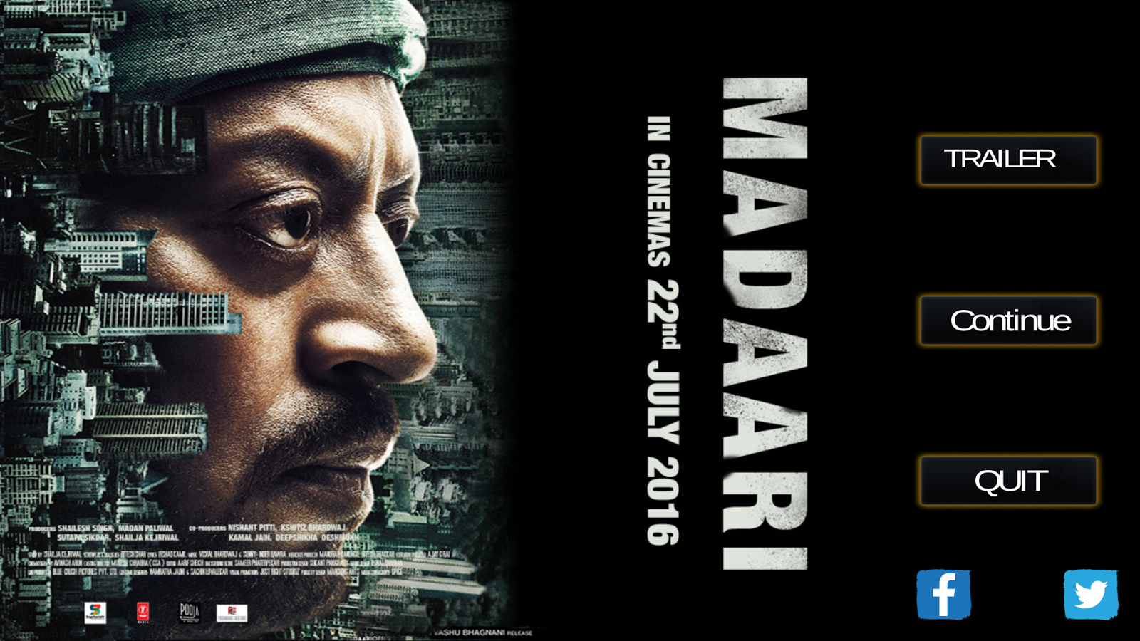 Madaari Movie Official Game- screenshot