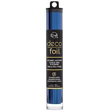 Thermoweb Deco Foil 6X12 5/Pkg - Deep Blue