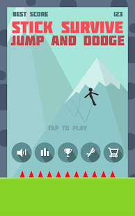 Stickman Survive: Jump and Dodge
