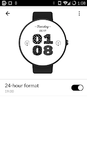 Pattern Digital Watch Face FWF- screenshot thumbnail