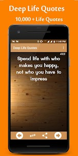 Deep Life Quotes 1
