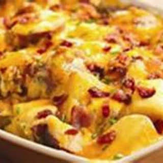 Deluxe Red Potato Bake (One Pan Meal).
