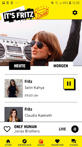 Radio Fritz 3.0.3 screenshots 4