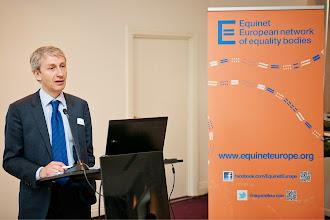 Photo: Andreas Stein – Head of Unit, Equal Treatment Legislation D.1, DG Justice EC