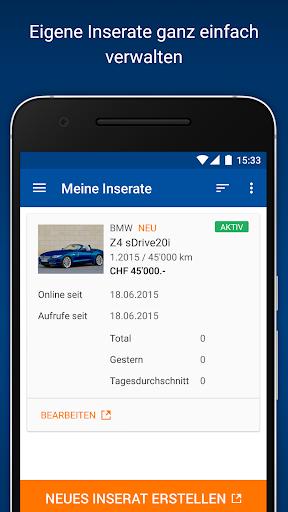 AutoScout24 Schweiz for PC