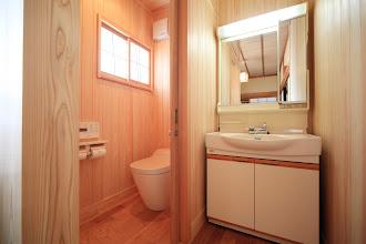 Photo: いわすげの間 トイレ room iwasuge no ma Toilet