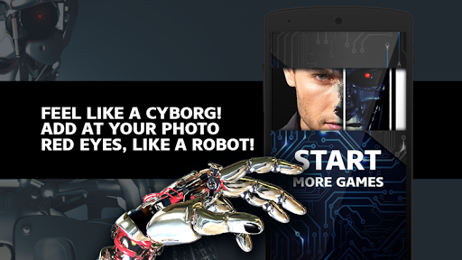 Iron Robot Photo Editor
