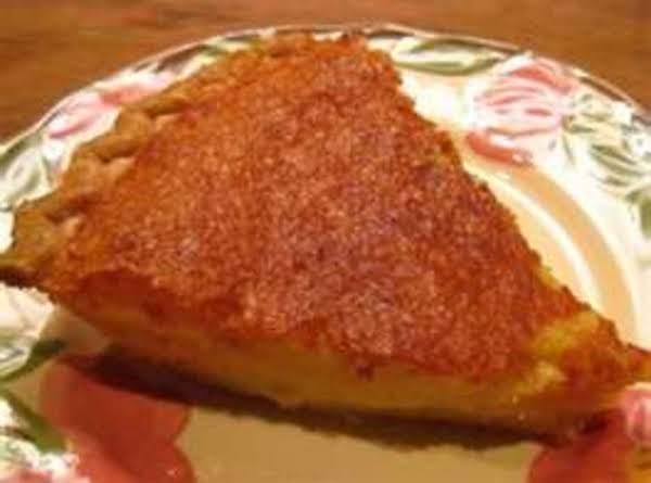 My Mother's Buttermilk Pie