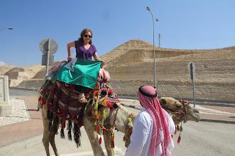 Photo: Post-kongreso: Bashka sur kamelo