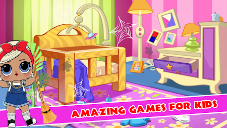 LOL A Doll Surprise House Cleaning 1.0 APK screenshot thumbnail 4