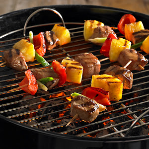 Asian Pork and Pineapple Kabobs